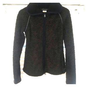 Athleta Teddy Bear Fleece Sherpa Zip Up Jacket M